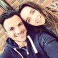 Peter Andre et sa femme Emily - Photo postée sur Instagram / juin 2015