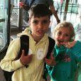 Peter Andre a posté une photo de ses enfants sur Instagram / juin 2015