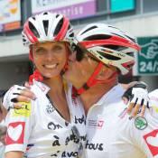 Sylvie Tellier et Paul Belmondo : Cyclistes motivés pour le Tour de France !