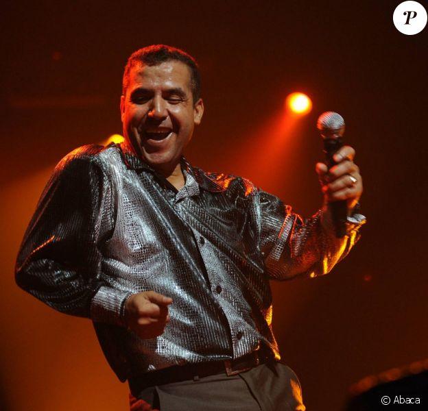 Concert de Cheb Mami au Zénith de Paris, le chanteur faisait son retour après une longue absence suite à ses démêlés judiciaires, le 6 novembre 2011.
