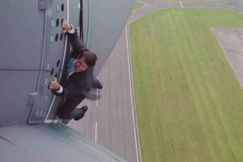 Tom Cruise : Les coulisses de la plus folle cascade de sa carrière