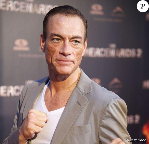 Jean-Claude Van Damme à Madridle 8 août 2012.