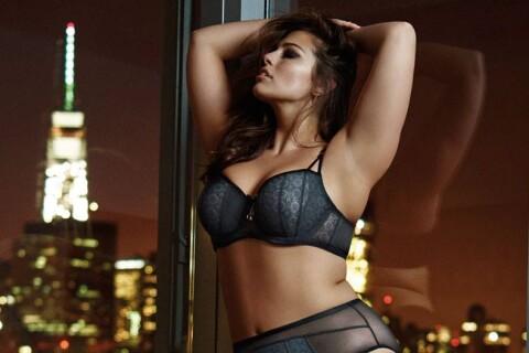 Ashley Graham : Torride en lingerie, un modèle de confiance en soi !