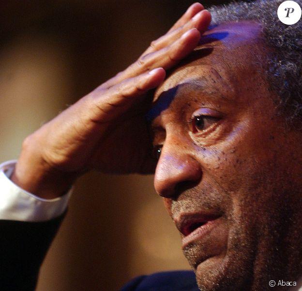 Bill Cosby lors de la convention annuelle des Professeurs de l'Etat de New York au New York Hilton Hotel de New York le 25 mars 2004