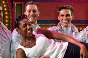 Marie-José Perec et Sébastien Foucras : Les amoureux s'éclatent au Moulin Rouge