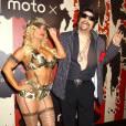 """Coco Austin et Ice-T lors de la soirée """"Moto X"""" de Hallloween au TAO Downtown le 31 octobre 2014 à New York"""
