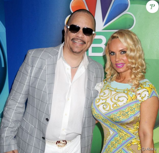 Ice-T et Coco Austin lors du NBC Upfront Presentation Red Carpet Event au Radio City Music Hall de New York le 11 mai 2015