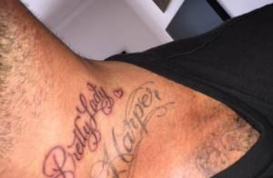 David Beckham, son nouveau tatouage : Un adorable message à sa petite Harper