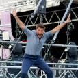 """Exclusif - Christophe Beaugrand - Festival """"Tout le monde chante contre le cancer"""" à Villefranche-de-Rouergue le 4 juillet 2015."""