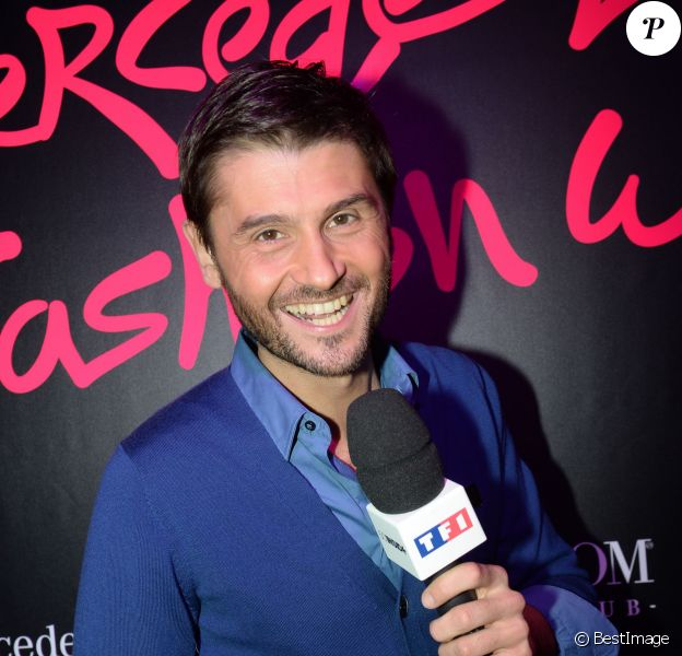 Exclusif - Christophe Beaugrand - Soirée Mercedes Love Fashion week au Vip Room à Paris le 10 mars 2015.