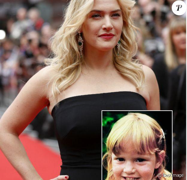 Kate Winslet aujourd'hui vs. la Kate de son enfance, joufflue et harcelée à l'école