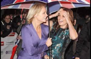 REPORTAGE PHOTOS : Emma Bunton et Geri Halliwell, deux Spice Girls qui font le show... mouillées !