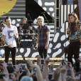 Harry Styles, Liam Payne, Niall Horan and Louis Tomlinson (One Direction) en concert pour le Good Morning America Summer Concert Series à Rumsey Playfield - Central Park, New York le 4 aout 2015