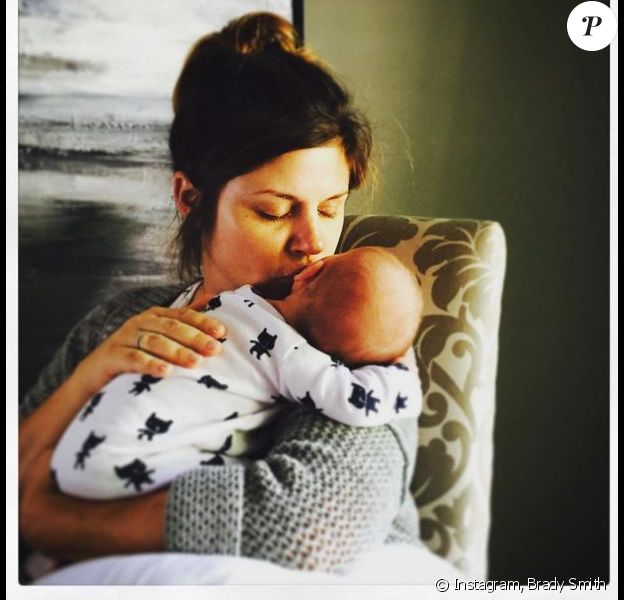 Holt, le fils de l'actrice Tiffani Thiessen et Brady Smith, exposé sur Instagram. Juillet 2015