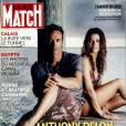 Anthony Delon et sa fille cachée Alyson, en couverture de Paris Match
