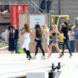 Les Spice Girls sont de retour ! Elle ont répété dans le plus grand secret een vue de leur show prévu lors de la cérémonie de clôture des Jeux olympiques. Le 9 août 2012