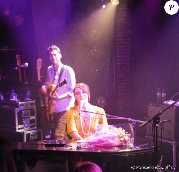 Sara Bareilles en concert à La Maroquinerie