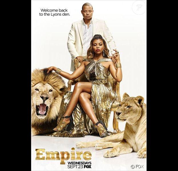 Affiche promo pour la saison 2 de Empire