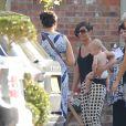 """Frankie Sandford (du groupe """"The Saturdays"""") et son futur mari Wayne Bridge profitent de leurs amis et famille la veille de leur mariage à Woburn. Le 18 juillet 2014"""