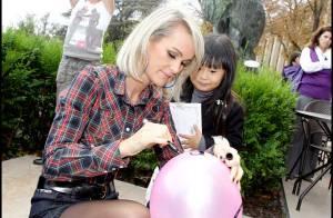 REPORTAGE PHOTOS : Laeticia Hallyday et la petite Jade ont une nouvelle copine... et s'amusent bien avec !