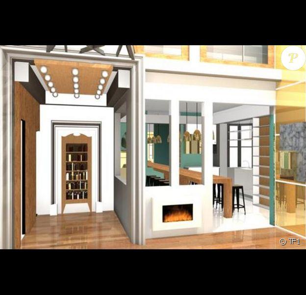 La maison des secrets 2015 se dévoile peu à peu ! Le lancement aura lieu le 21 août prochain à 20h55 sur TF1. Ici la salle à manger.