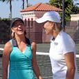 """Chris Evert, pour la 31e année d'existence de son tournoi caritatif, peut compter sur le soutien de nombreuses stars, à l'instar de son ancienne rivale Martina Navratilova. Les """"hostilités"""" ont débuté vendredi 5 novembre en Floride."""