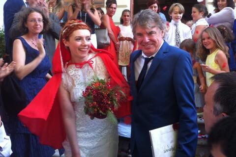 "Patricia Petibon et Didier Lockwood : Leur superbe mariage ""coquelicot"" !"