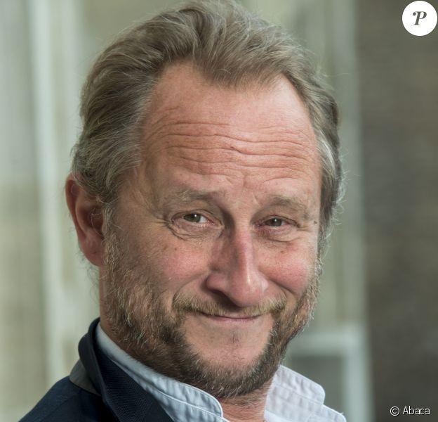 L'acteur Benoît Poelvoorde en Belgique en juin 2015