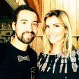 Alexandra Rosenfeld et Pierre Augé (Top Chef) profite de vacances dans le sud de la France. Juillet-août 2015.