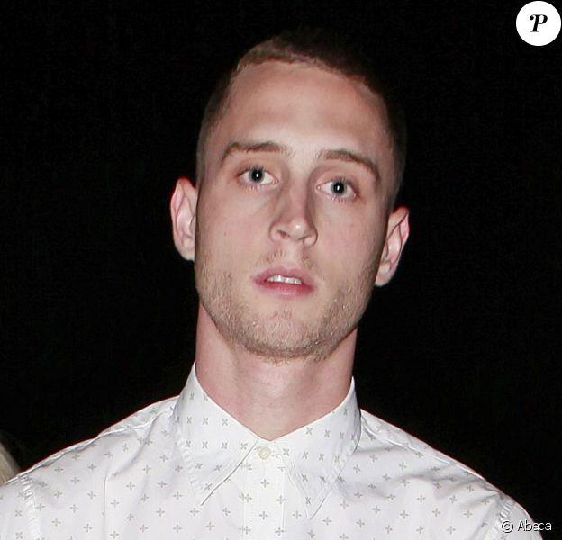 Le fils de Tom Hanks, Chet Haze, et Hazel E à Los Angeles, le 18 septembre 2014.