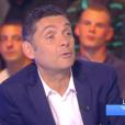 Thierry Moreau - directeur de la rédaction de Télé 7 Jours - annonce la grossesse de Karine Ferrri dans  Touche pas à mon poste  sur D8, le 3 septembre 2015.