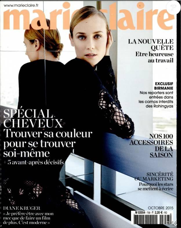 Le magazine Marie Claire du mois d'octobre 2015