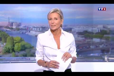 Claire Chazal, digne et sobre : Ses adieux déchirants aux téléspectateurs de TF1