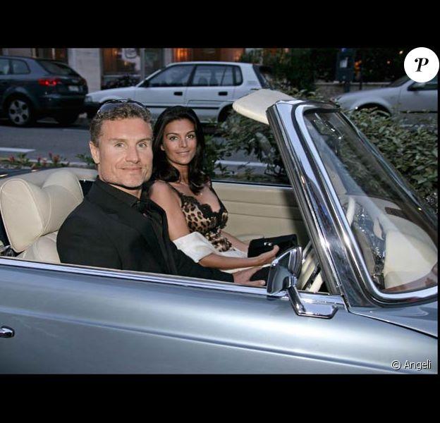 Karen Minier et David Coulthard