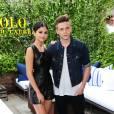 Selena Gomez et Brooklyn Beckham au défilé Polo Ralph Lauren au McKittrick Hotel à New York, le 11 septembre 2015.