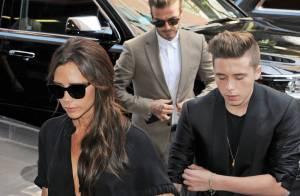 Victoria Beckham : Après son défilé, escapade réparatrice avec David et Brooklyn