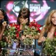 Beyonce Knowles, Michelle Williams et Kelly Rowland - Le groupe Destiny's Child lors des World Music Awards à Hollywood,le 31 août 2005