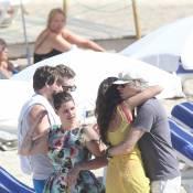 Bob Geldof : Marié heureux devant Demi Moore et ses filles Pixie et Fifi