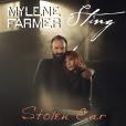 Mylène Farmer et Sting - Stolen Car - pochette du single publié le 28 août 2015.