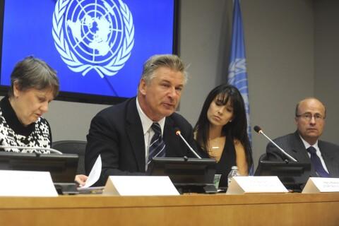 Alec Baldwin : Sa femme Hilaria subjuguée par son discours aux Nations Unies