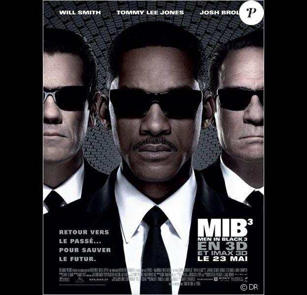 Affiche du film Men in Black III (2012)