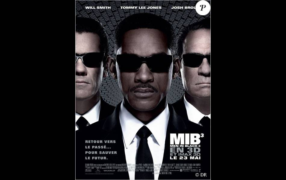 Affiche du film Men in Black III (2012)