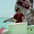 """Casper Van Dien dans """"SHARKTOPUS VS. WHALEWOLF"""", juillet 2015."""