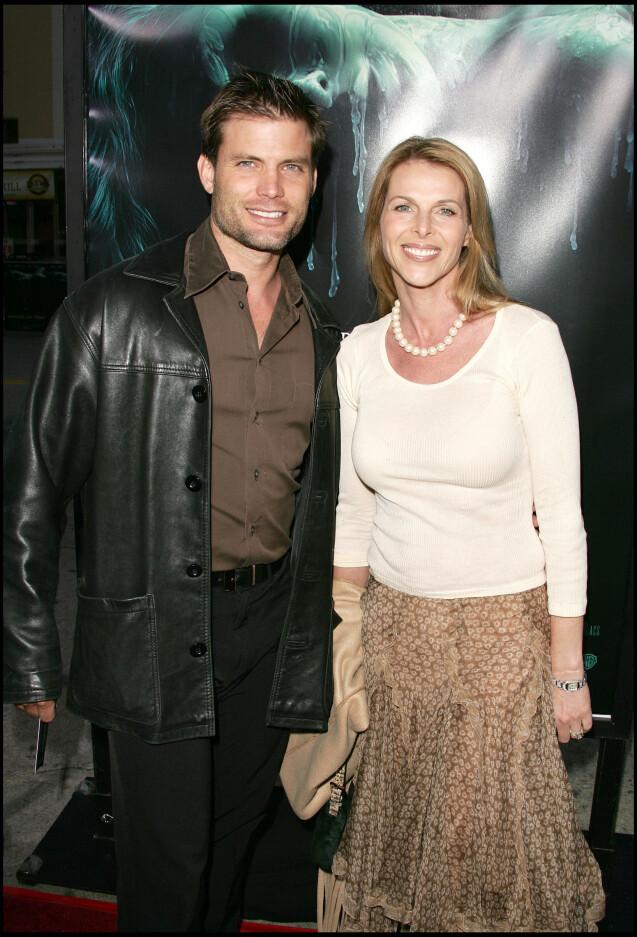 Catherine Oxenberg et Casper Van Dien à Los Angeles, le 24 avril 2005.