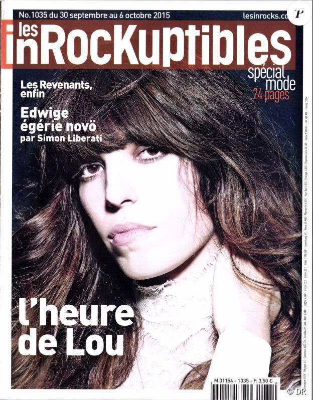 Le magazine Les Inrockuptibles du 30 septembre 2015