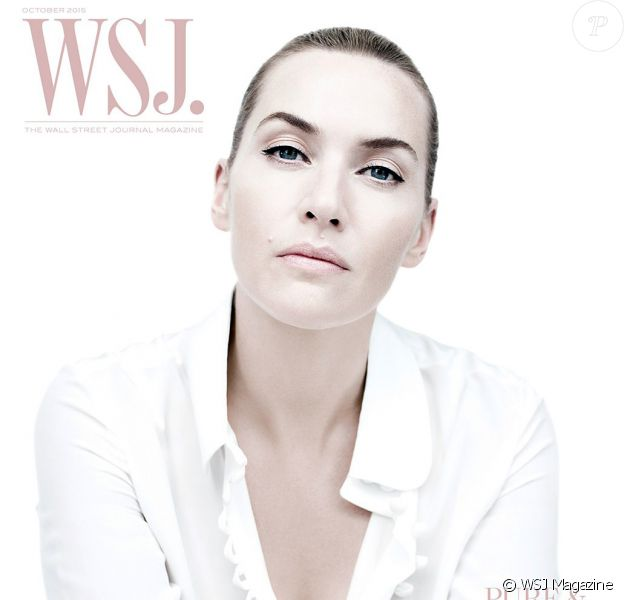 """Kate Winslet, """"pure et simple"""", en couverture du dernier WSJ Magazine."""