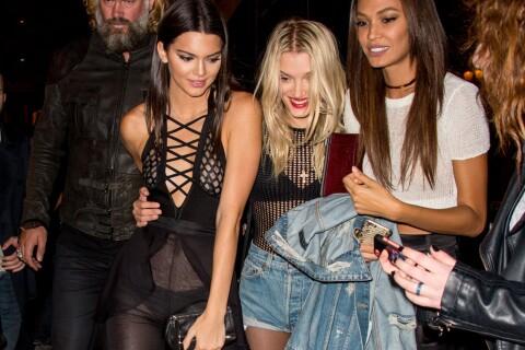 Kendall Jenner en transparence, Doutzen Kroes, Gigi Hadid... nuit de folie à Paris