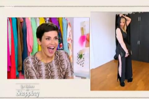 """Cristina Cordula frôle l'attaque devant le look d'un """"sosie"""" de Kylie Minogue !"""