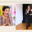 Le look d'Ingrid, Cristina Cordula ne s'en remet pas dans Les Reines du shopping, le 30 septembre 2015, sur M6
