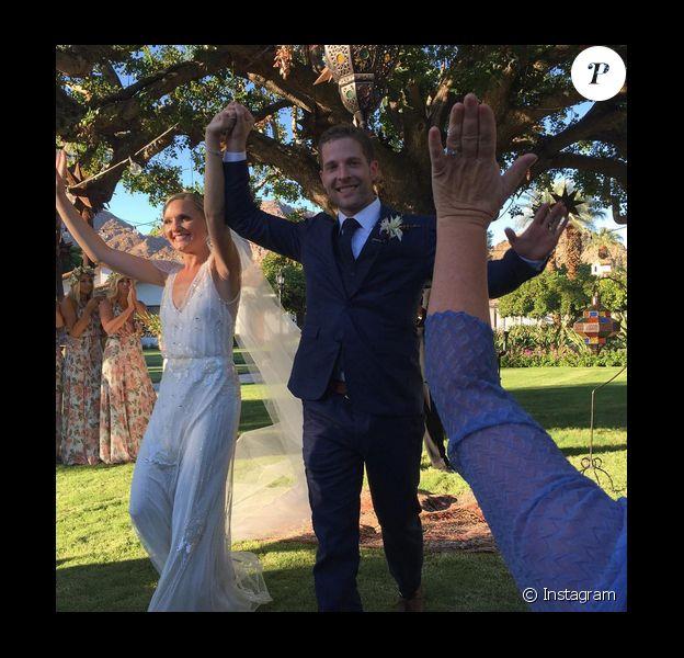 Taylor Cole a épousé Kevin Simshauser le 2 octobre dernier / photo postée sur le compte Instagram du marié.